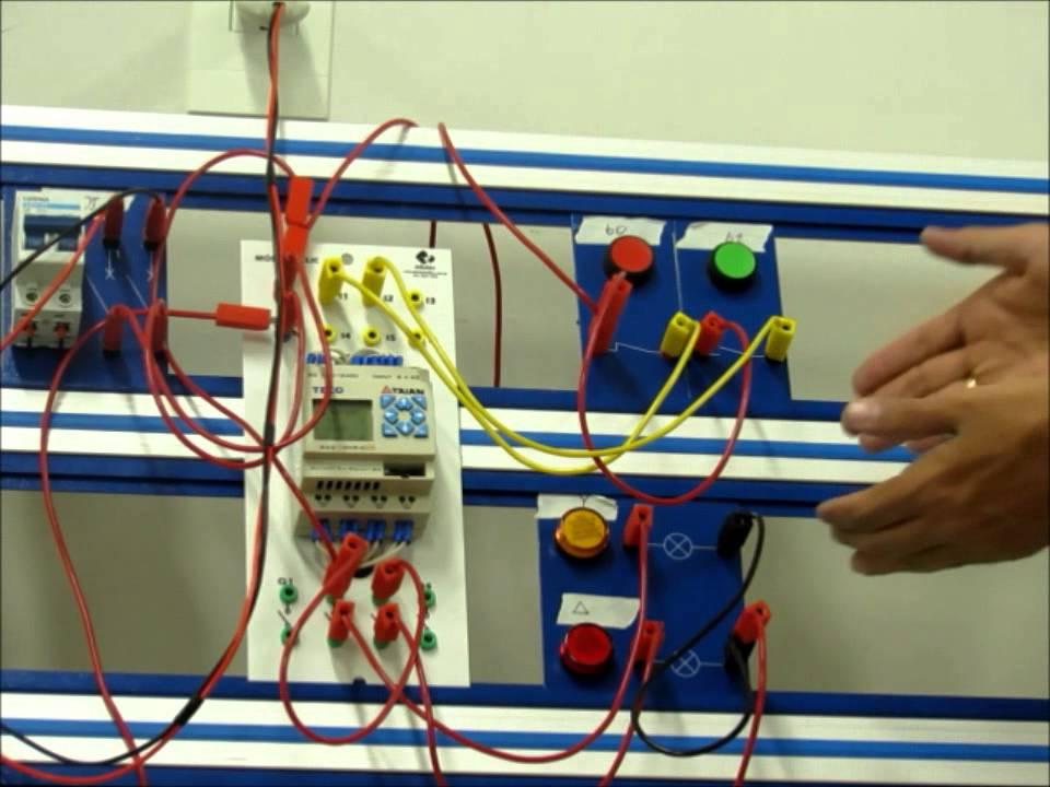 1e07966c5ad Aplicação CLP 01 - Disciplina de Automação Industrial - YouTube