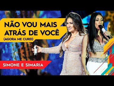 Não Vou Mais Atrás de Você - Simone & Simaria - Villa Mix Goiânia   Ao Vivo
