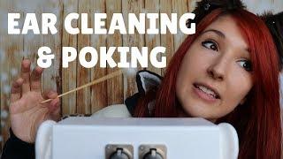 [1 HOUR] ASMR - EAR CLEANING ~ Intense Binaural Ear Cleaning w/ Fluffy Stick & Finger Poking ~