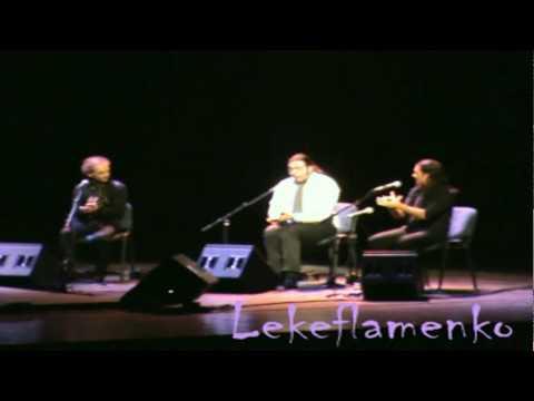 Paco de Lucia 2010 con Duquende, David de Jacoba y Farru Concierto en Belgrado 5º