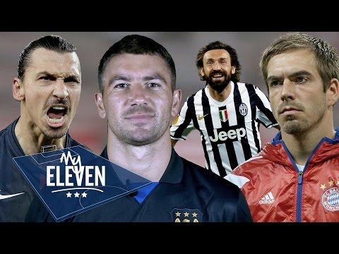 Aleksander Kolarov picks his greatest ever team | Zlatan, Zidane, Pirlo & more!