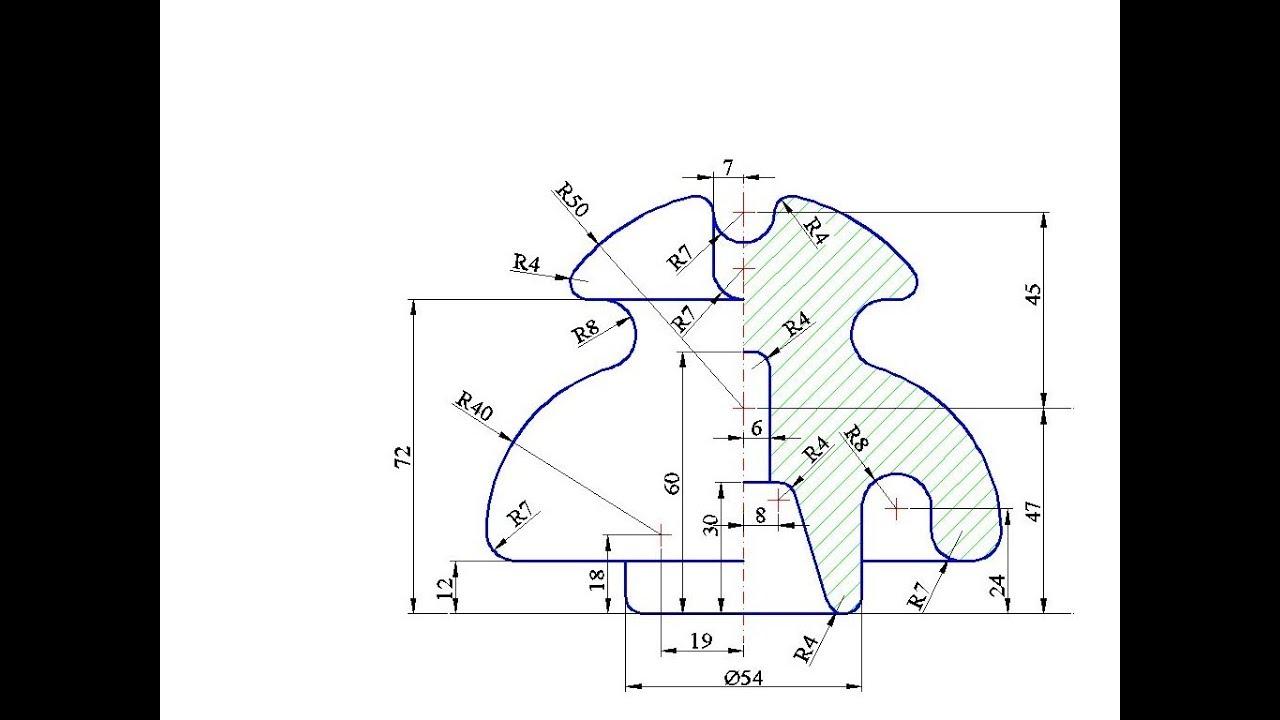 Grafica asistata de calculator prin AutoCAD. Aplicatia 2D