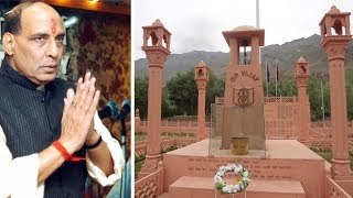 J&K: Defence minister Rajnath Singh to pay tribute to Kargil War martyrs today