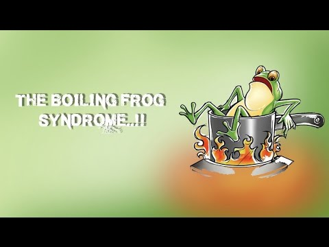 boiling frog theory Boiling frogs and the evolving aec market do these things proactively and you will avoid falling victim to the boiling frog theory ignore them.