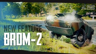 PUBG - New Feature - BRDM-2