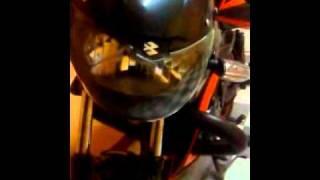 moto Xcd 125 con luz hid