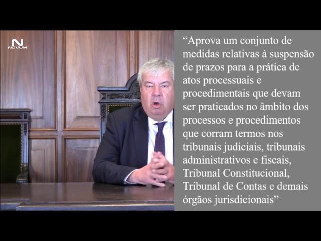 """Ordem dos Advogados assume """"preocupação pela atual situação de indefinição em que vivem os tribunais"""
