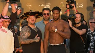 Anthony Joshua v. Andy Ruiz Jr: Weigh-in, preview and predictions