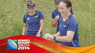 Australia women take on Rugby Petanque at Women