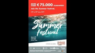 Main Event Day 1C - Summer Festival - Grand Casino de Namur