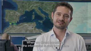 Follow portugal's enio silva at the heart of frontex european monitoring room. in warsaw, a team experts monitor real-time images from surveillance pl...