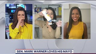 FOX 5 anchor eats spoonful of mayonnaise on live television