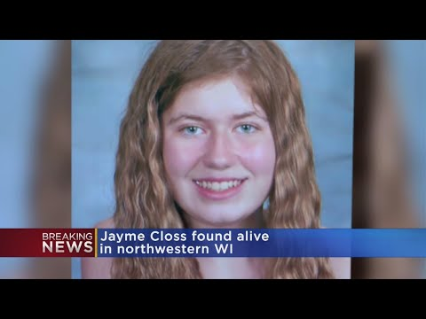 Sheriff: Jayme Closs Found Alive In Wisconsin, Suspect In Custody