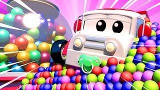 đội xe tuần tra - Đội tìm kiếm Amber nhí - Thành phố xe 🚗 những bộ phim hoạt hình về xe tải