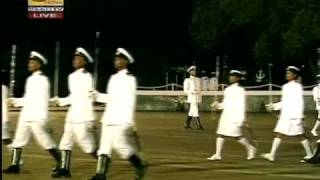 President Rajapakshas Son Yoshitha Navy Passing Out Parade 2009 Mar 07