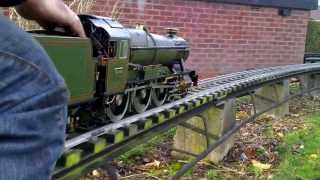 GWR County 3 1/2 inch gauge live steam locomotive