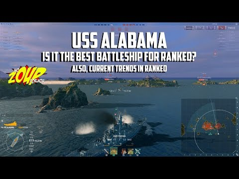 Is USS Alabama the Best Battleship for Ranked Gameplay in World of Warships?