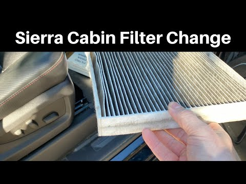 How To Replace A 2014 – 2018 GMC Sierra Cabin Air Filter – DIY Remove / Change Tutorial