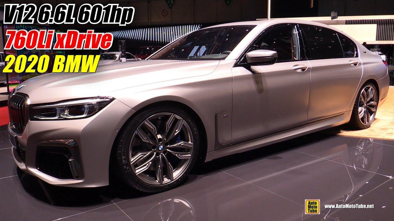 2020 Bmw 760li Xdrive V12 Exterior And Interior Walkaround 2019 Geneva Motor Show
