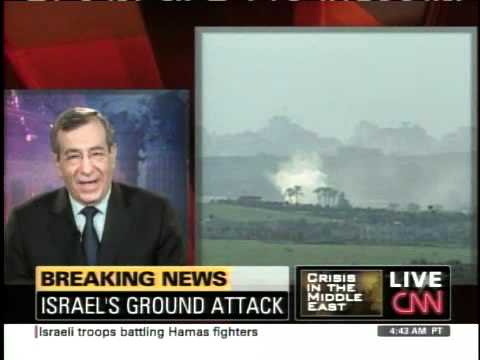 Ziad Asali discussing Gaza conflict on CNN-January 3, 2009