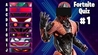 GUESS THE SKIN IN FORTNITE | FORTNITE QUIZ #1 | Season X