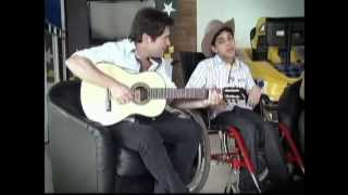 "CANTOR DANIEL CANTA ""ARRIBADA"" COM RAFINHA (RAFAEL DIEGO)"