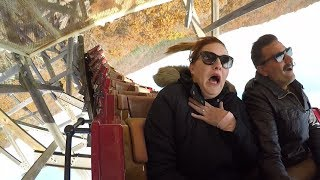 Riding Roller Coasters At Silver Dollar City Theme Park!