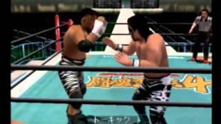 RETRO GAMER KEN - Dreamcast - New Japan Pro Wrestling Spirit 4