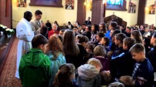 ks. Robbin Omiro Kamemba - misjonarz z Kairu w Egipcie - kazanie dla dzieci - 04.05.2014