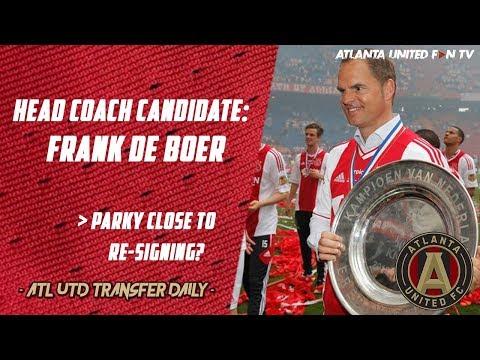 Frank de Boer Now Linked with the Head Coach Job! | ATL UTD TRANSFER DAILY