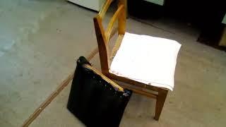 самодельная скамья Скотта для домашних тренировок бицепса