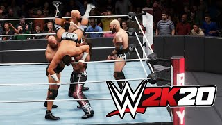 WWE 2K20 - Men's WWE Royal Rumble (WWE 2K20 Gameplay Full Match)