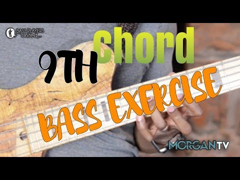 9TH CHORD BASS EXERCISE - JERMAINE MORGAN TV