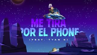 Me Tira Por El Phone - Natanael Cano feat. Tyan G (Lyric Video)