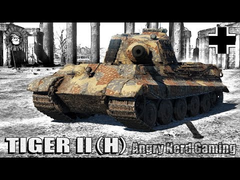 War Thunder: Tiger II (H), German, Tier-4, Heavy Tank