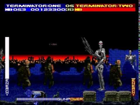 Terminator 2 (Super Nintendo/SNES) Judgment Day & T2: the Arcade Game - LJN Defender