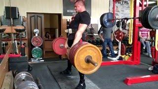 Становая тяга с медленным подъемом - 300 кг