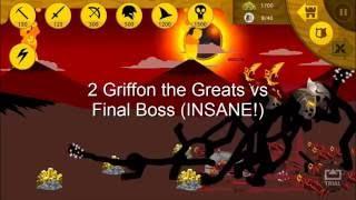 Stick War Legacy : 2 Giants vs Final Boss Insane Resimi