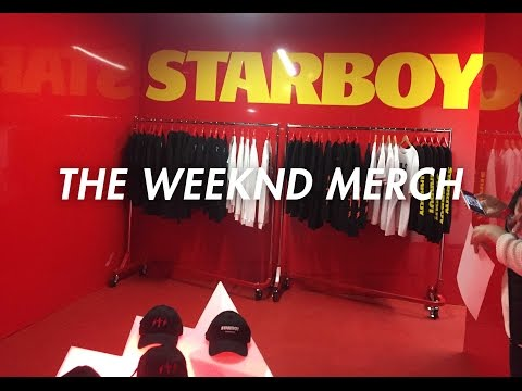 THE WEEKND - STARBOY POP UP SHOP MELBOURNE