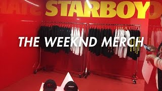 THE WEEKND - STARBOY POP UP SHOP MELBOURNE