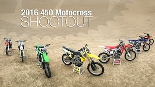 2016 450 Motocross Shootout - MotoUSA