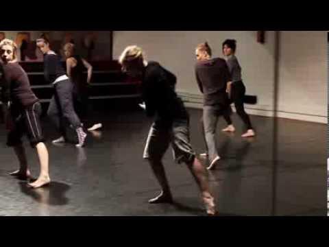 Danse contemporaine - Atelier chorégraphique à Micadanses 2014 - Ingrid Bizaguet