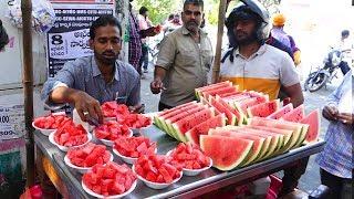Amazing Watermelon Cutting Skİlls | Street Food Planet