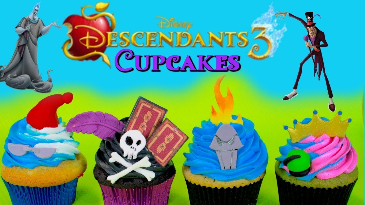 Descendants 3 Cupcakes Youtube