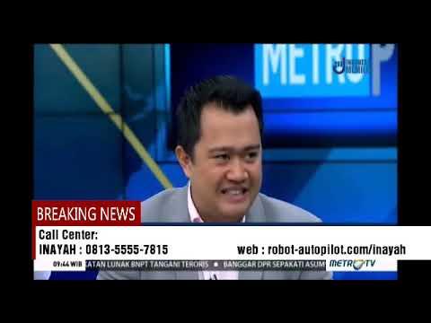 Talkshow Robot Trading Autopilot Metro Tv II WA/0813-5555