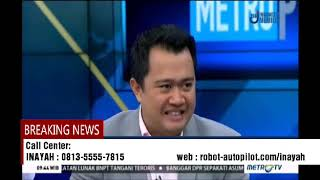 Talkshow Robot Trading Autopilot Metro Tv II WA/0813-5555-7815 (Inayah)