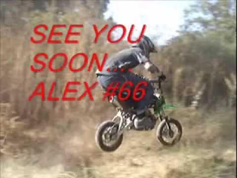 Mini MX Session at Laguna Seca - Alex # 66, Coleman, Tex