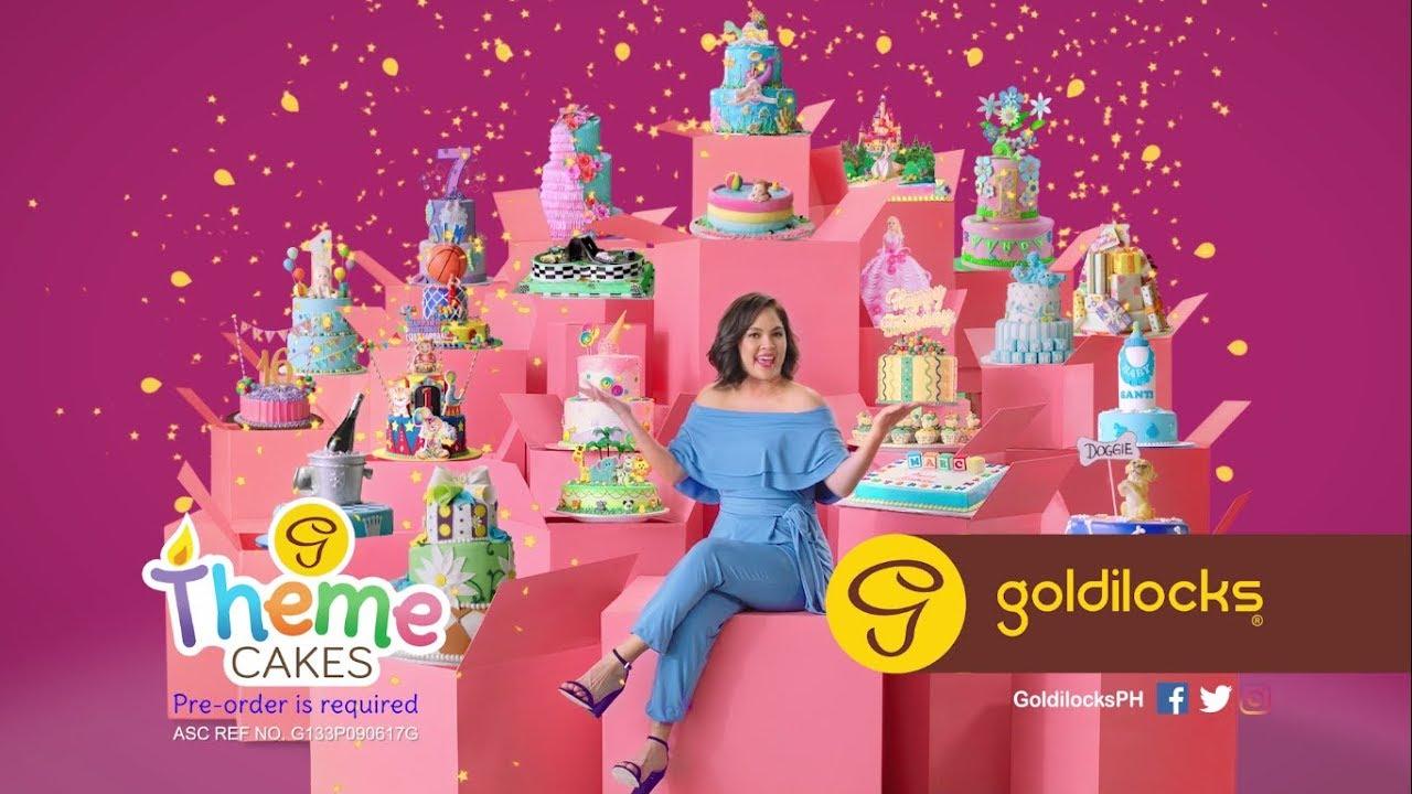 Goldilocks Theme Cakes Tvc Youtube