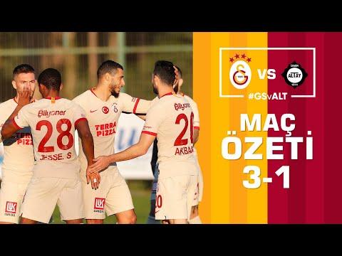 ÖZET | Galatasaray 3-1 Altay #GSvALT