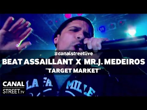 Beat Torrent feat. Mr.J. Medeiros - Target Market #canalstreetlive version